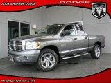 2008 Mineral Gray Metallic Dodge Ram 1500 Laramie Quad Cab 4x4 #28059431