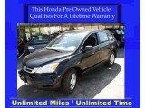 2010 Crystal Black Pearl Honda CR-V LX AWD #28059462