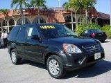 2006 Nighthawk Black Pearl Honda CR-V EX 4WD #28059477