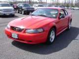 2003 Torch Red Ford Mustang V6 Coupe #28064567