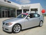 2008 Titanium Silver Metallic BMW 3 Series 335i Sedan #28092579