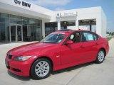 2007 Crimson Red BMW 3 Series 328i Sedan #28092580