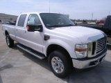 2010 White Platinum Metallic Tri-Coat Ford F350 Super Duty Lariat Crew Cab 4x4 #28092747