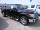 2010 Tuxedo Black Ford F150 XLT SuperCrew 4x4 #28092748