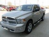 2010 Light Graystone Pearl Dodge Ram 1500 Big Horn Quad Cab 4x4 #28092790