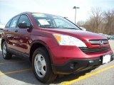 2007 Tango Red Pearl Honda CR-V LX 4WD #28092638