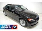2007 Black Sapphire Metallic BMW 3 Series 328i Sedan #28092443