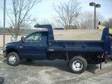Patriot Blue Pearl Dodge Ram 3500 in 2007