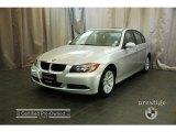 2007 Titanium Silver Metallic BMW 3 Series 328xi Coupe #28092138