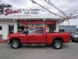 2004 Flame Red Dodge Ram 1500 SLT Quad Cab 4x4 #28092458