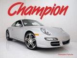 2008 Arctic Silver Metallic Porsche 911 Carrera 4S Coupe #28092180