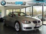 2008 Titanium Silver Metallic BMW 3 Series 328i Convertible #28092182