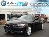 2008 Jet Black BMW 3 Series 335xi Coupe #28092183