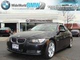 2008 Black Sapphire Metallic BMW 3 Series 335i Coupe #28092190