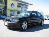 2002 Jet Black BMW 3 Series 325i Sedan #2813107