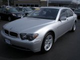 2003 Titanium Silver Metallic BMW 7 Series 760Li Sedan #28143605