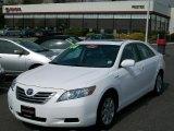 2008 Super White Toyota Camry Hybrid #28143624