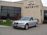 2004 Titanium Silver Metallic BMW 3 Series 325xi Sedan #28143710