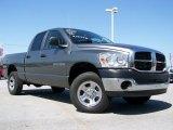 2007 Mineral Gray Metallic Dodge Ram 1500 ST Quad Cab 4x4 #28143364