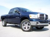 2007 Patriot Blue Pearl Dodge Ram 1500 Big Horn Edition Quad Cab 4x4 #28143365