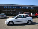 2004 Cloud 9 White Ford Focus ZX3 Coupe #28143727
