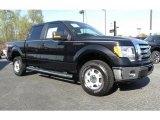 2010 Tuxedo Black Ford F150 XLT SuperCrew 4x4 #28143533