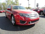 2010 Red Candy Metallic Ford Fusion Sport #28143534