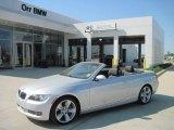 2009 Titanium Silver Metallic BMW 3 Series 335i Convertible #28143770