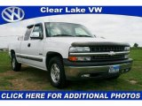 2002 Summit White Chevrolet Silverado 1500 LT Extended Cab #28144056