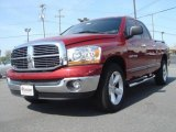 2006 Inferno Red Crystal Pearl Dodge Ram 1500 SLT Quad Cab #28143560