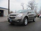 2010 Mocha Steel Metallic Chevrolet Equinox LT #28143944