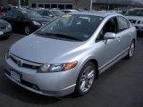 2007 Alabaster Silver Metallic Honda Civic Si Sedan #28143603