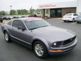 2007 Tungsten Grey Metallic Ford Mustang V6 Deluxe Coupe #28196578