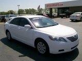 2008 Super White Toyota Camry Hybrid #28196583