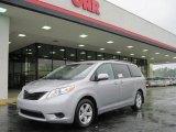 2011 Silver Sky Metallic Toyota Sienna LE #28196591