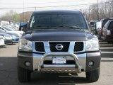 2007 Smoke Gray Nissan Titan LE King Cab 4x4 #28196405