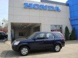 2006 Royal Blue Pearl Honda CR-V LX 4WD #28196277