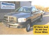 2007 Mineral Gray Metallic Dodge Ram 1500 ST Regular Cab 4x4 #28196427
