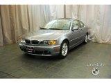2004 Silver Grey Metallic BMW 3 Series 325i Coupe #28196152