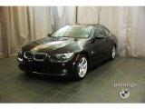 2009 Jet Black BMW 3 Series 328xi Coupe #28196153