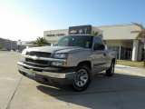 2005 Silver Birch Metallic Chevrolet Silverado 1500 Regular Cab #28196311