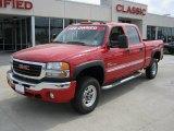 2007 Fire Red GMC Sierra 2500HD Classic SLE Crew Cab 4x4 #28196679