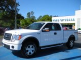 2010 Oxford White Ford F150 FX4 SuperCab 4x4 #28196319