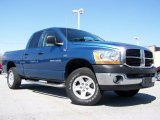 2006 Atlantic Blue Pearl Dodge Ram 1500 SLT TRX Quad Cab 4x4 #28196178