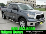 2008 Slate Gray Metallic Toyota Tundra Double Cab #28196455