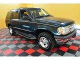 1997 Deep Jewel Green Pearl Ford Explorer XLT 4x4 #28196704