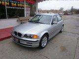 2001 Titanium Silver Metallic BMW 3 Series 325xi Sedan #28196465