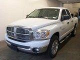 2007 Bright White Dodge Ram 1500 SLT Quad Cab #28196242