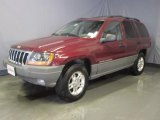 2002 Inferno Red Tinted Pearlcoat Jeep Grand Cherokee Laredo 4x4 #28196573