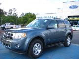2010 Steel Blue Metallic Ford Escape Hybrid #28246875